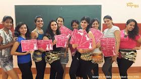 Belly dance institute Mumbai by Ritambhara Sahni review