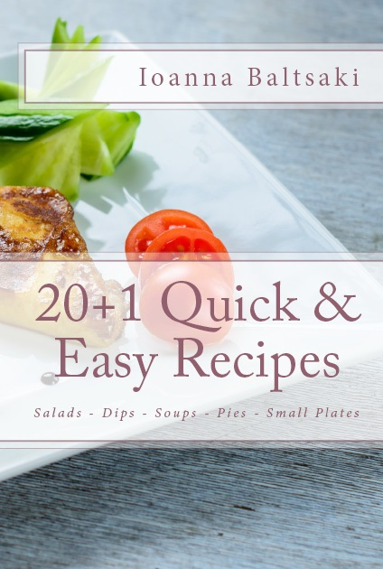 20+1 quick and easy recipes - print book and ebook