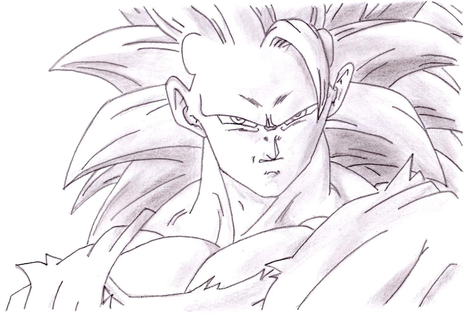 Dibujos Para Dibujar A Goku Car Audio Cd
