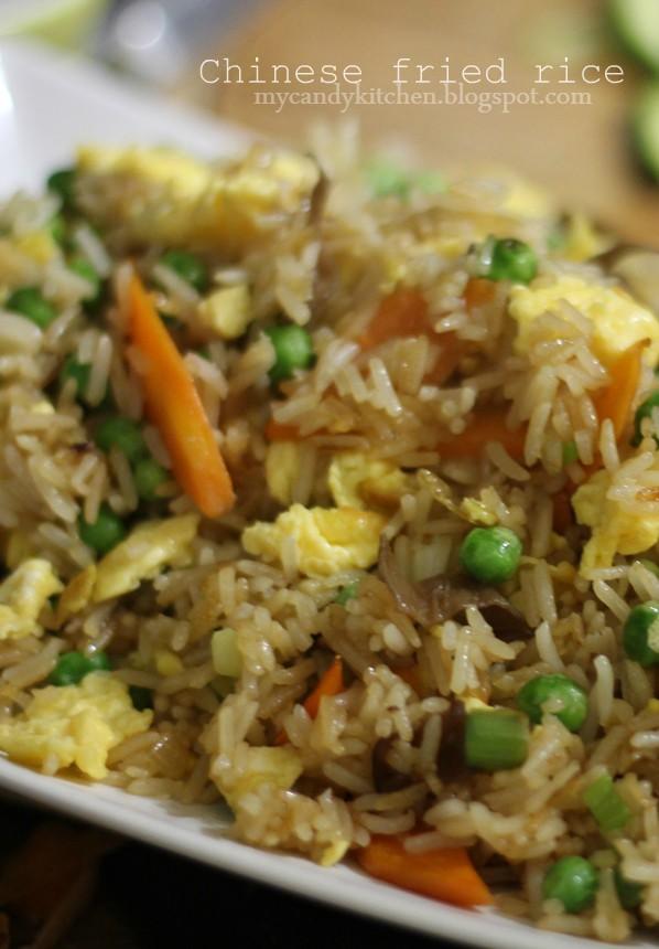 ориз по китайски, пържен ориз със зеленчуци и яйца ориз с яйца