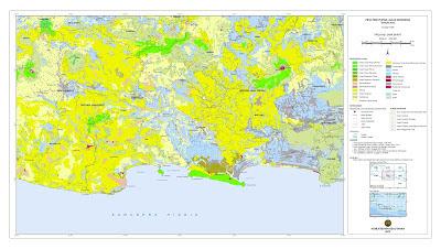 Peta Tutupan Lahan Jawa Barat