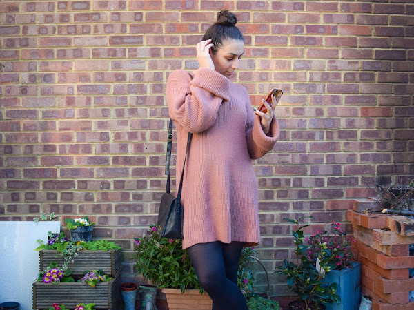 What Cat Wore | Terracotta Jumper Dress