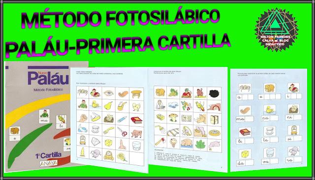 MÉTODO FOTOSILÁBICO PALÁU-PRIMERA CARTILLA