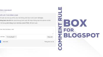 Tạo khung Một số lưu ý khi bình luận giống Bác Sĩ Windows cho Blogspot