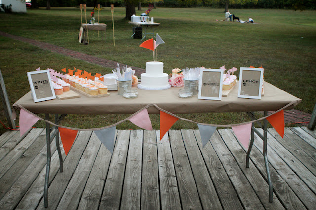 Real Weddings And Prices: {Real Wedding} Kate & Tim: Pretty Pink + Peach DIY Wedding