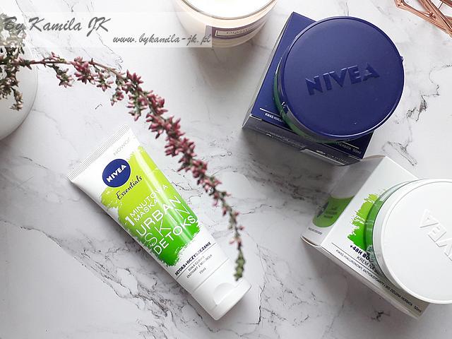Nivea Essentials Urban Skin Detoks Krem na dzień noc maseczka
