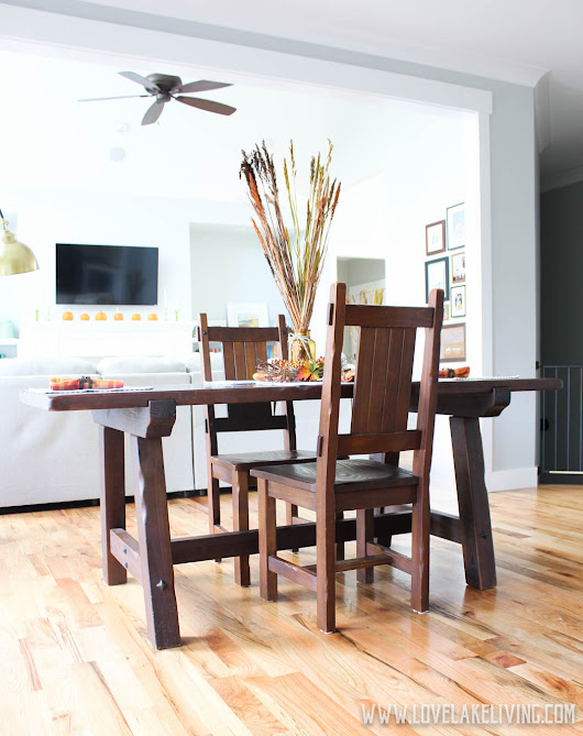 new breakfast table + the hunt for the perfect dining chairs.