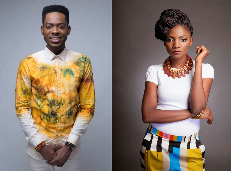Let's take a minute to laugh at this epic old pic of Simi and Adekunle Gold