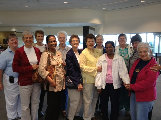 SCN Family Members Welcomed our New Vice President at the Airport