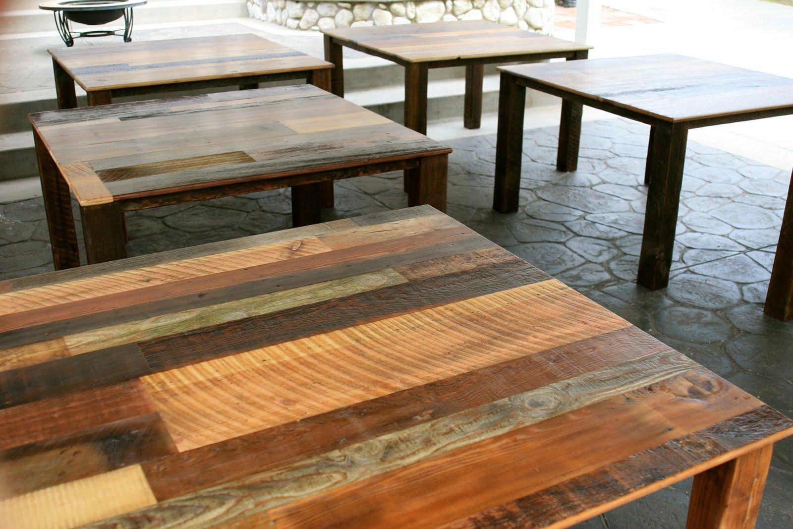 Arbor Exchange | Reclaimed Wood Furniture: Square ...