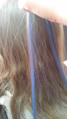 Postizo azul