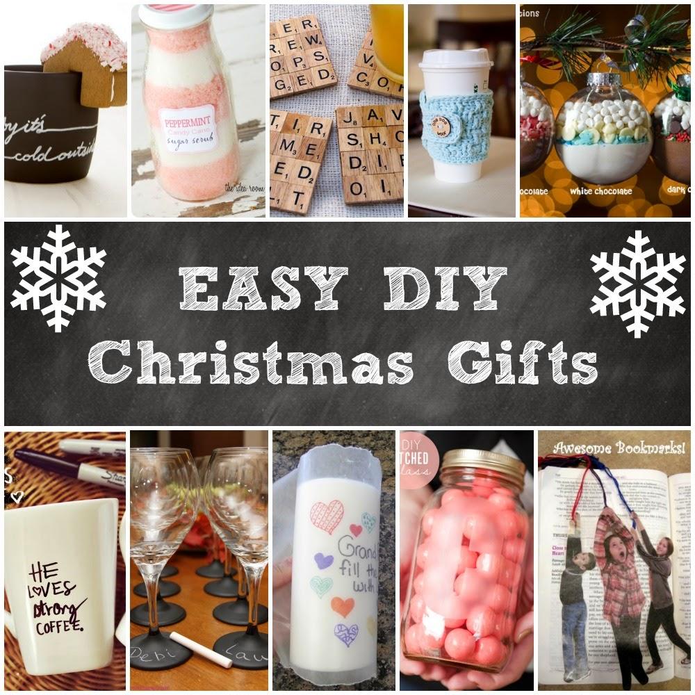 Easy Diy Christmas Gift Ideas Handy Diy