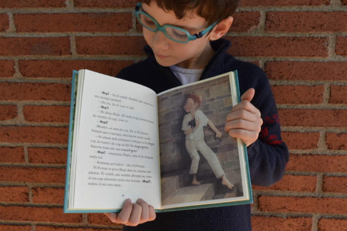 colección hopi badal libros infantiles con capítulos interior