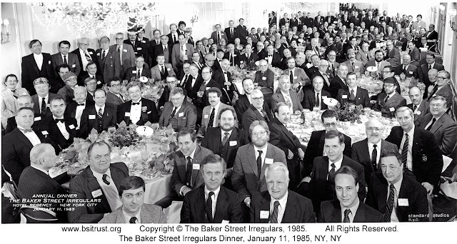 The 1985 BSI Dinner group photo