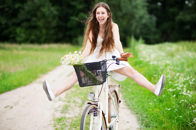 как правильно ездить на велосипеде