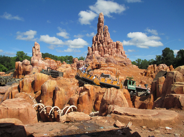 Big Thunder Mountain en Magic Kingdom