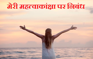 essay on my aim in life in hindi