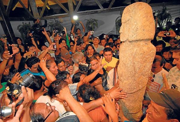 Círculos de Piedra Sacachún - Santa Elena, ruta del Spondylus