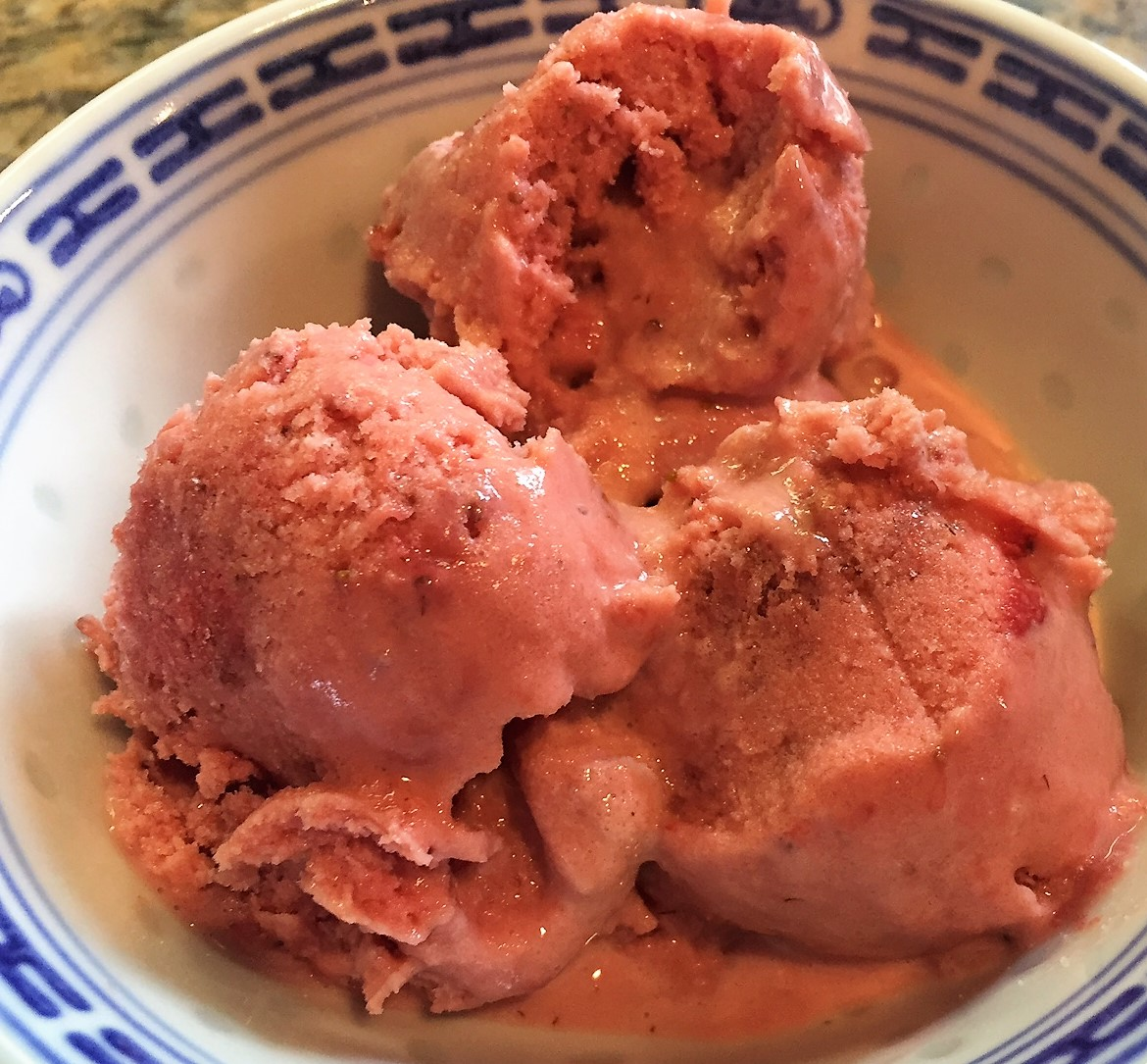Cooking Dunkin Style: Strawberry Sour Cream Ice Cream ...