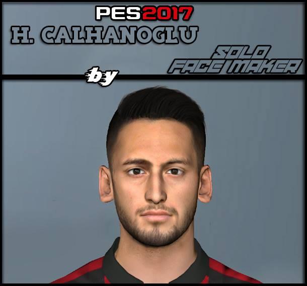 PES 2017 H. Calhanoglu face