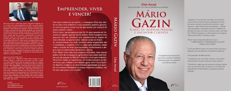 Mário Gazin lança biografia no Catuaí Maringá nesta quarta-feira