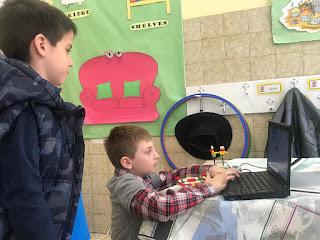 Exhibición de Robótica colegio María Auxiliadora