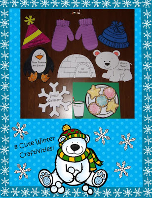 https://www.teacherspayteachers.com/Product/Winter-Themed-Reading-Comprehension-Book-Craftivities-to-Use-with-Any-Book-1039154