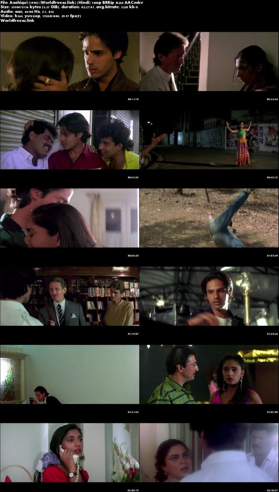 Screen Shots Aashiqui 1990 Hindi HD 1080p