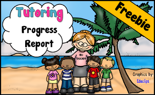Free Tutoring Progress Report