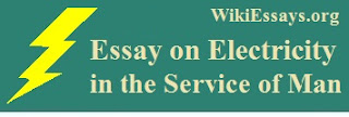 Essay on Electricity in the Service of Man