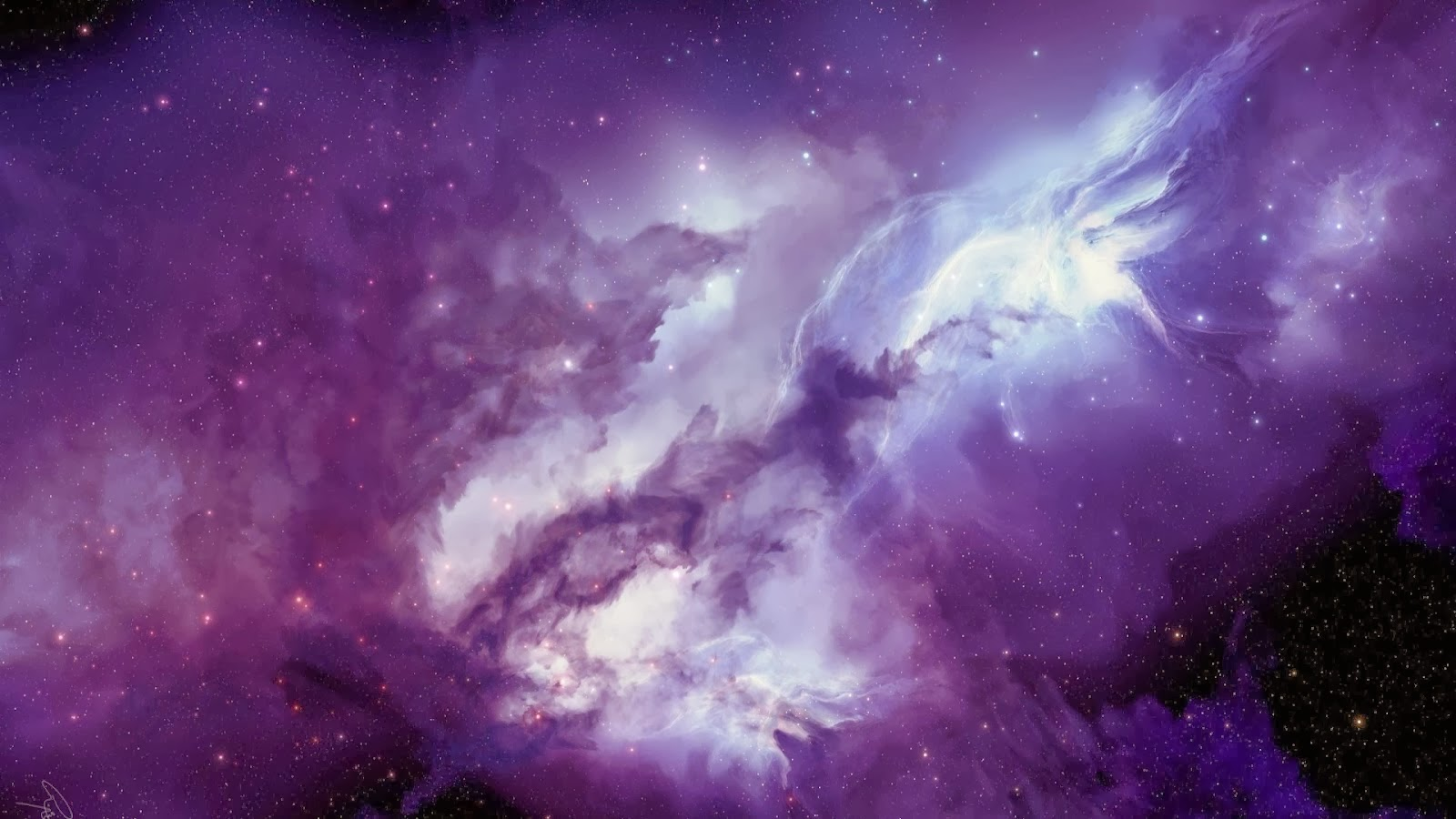 way galaxy h...1080p Wallpaper Galaxy