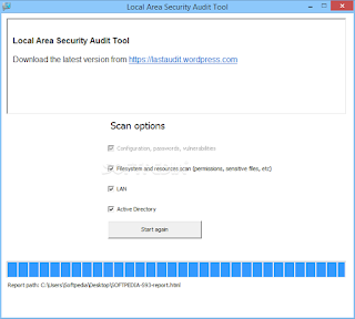 Local Area Security Audit Tool Portable