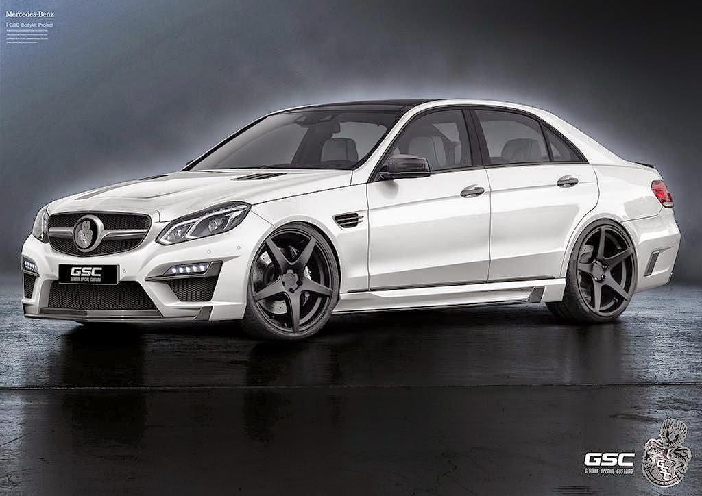 MercedesBenz EClass W212 Facelift by GSC BENZTUNING
