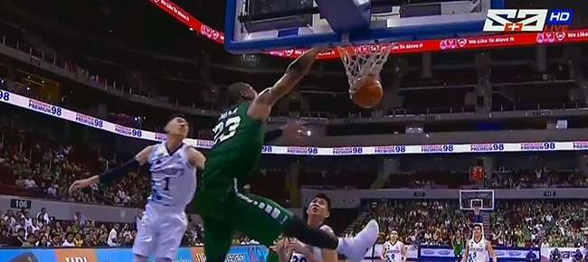 La Salle Throws A Dunk Party Against Adamson (VIDEO) UAAP Season 79