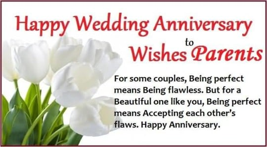 happy wedding anniversary wishes quotes for parents from children