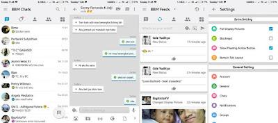 BBM MOD iOS Light Terbaru v3.1.0.13 APK (Tanpa Iklan dan Full DP)