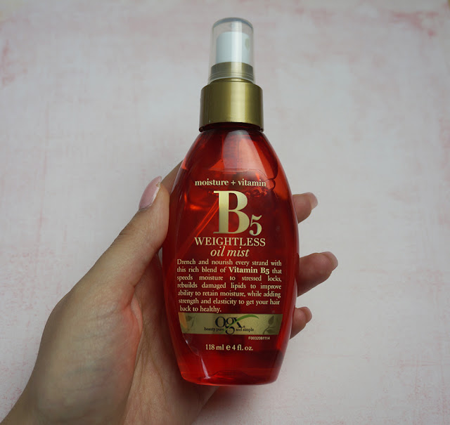 QGX B5 weightless oil mist