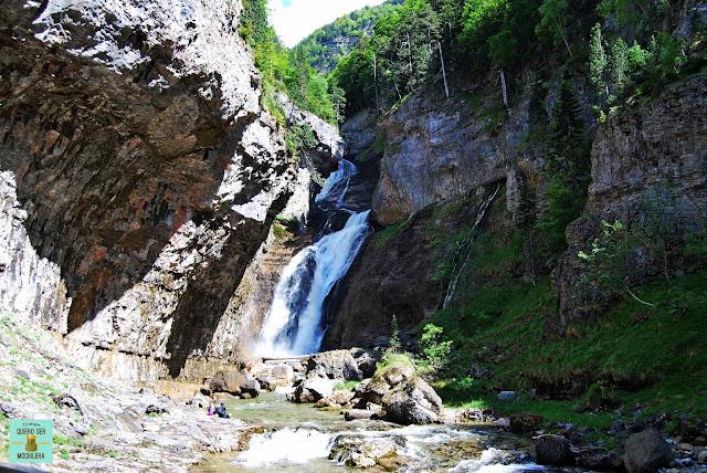Cascada del Estrecho, Parque Nacional de Ordesa