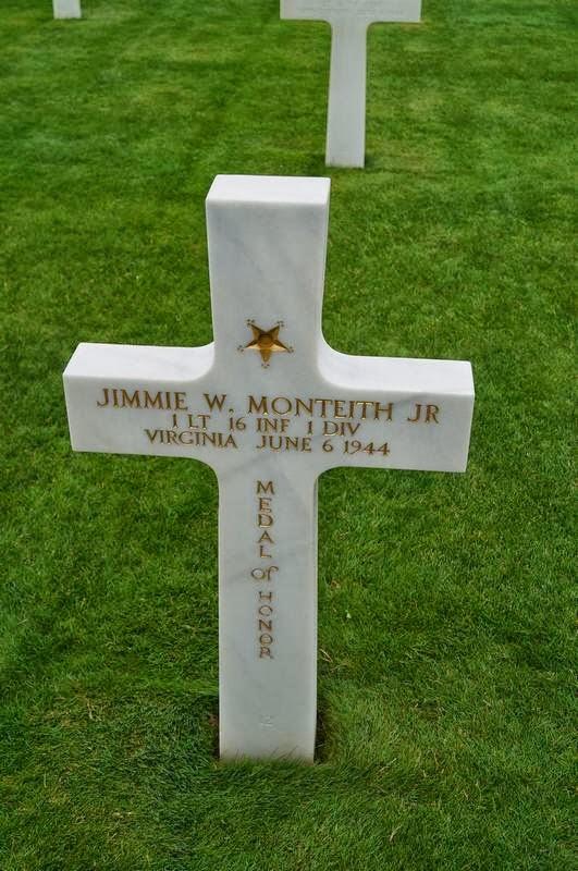 cementerio de Coleville-sur-mer, cementerio cruces blancas, cementerio americano de las cruces, cementerio americano en Normandia