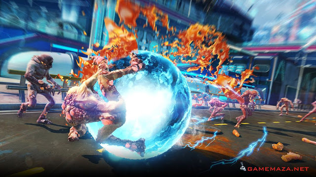 Sunset Overdrive Gameplay Screenshot 1