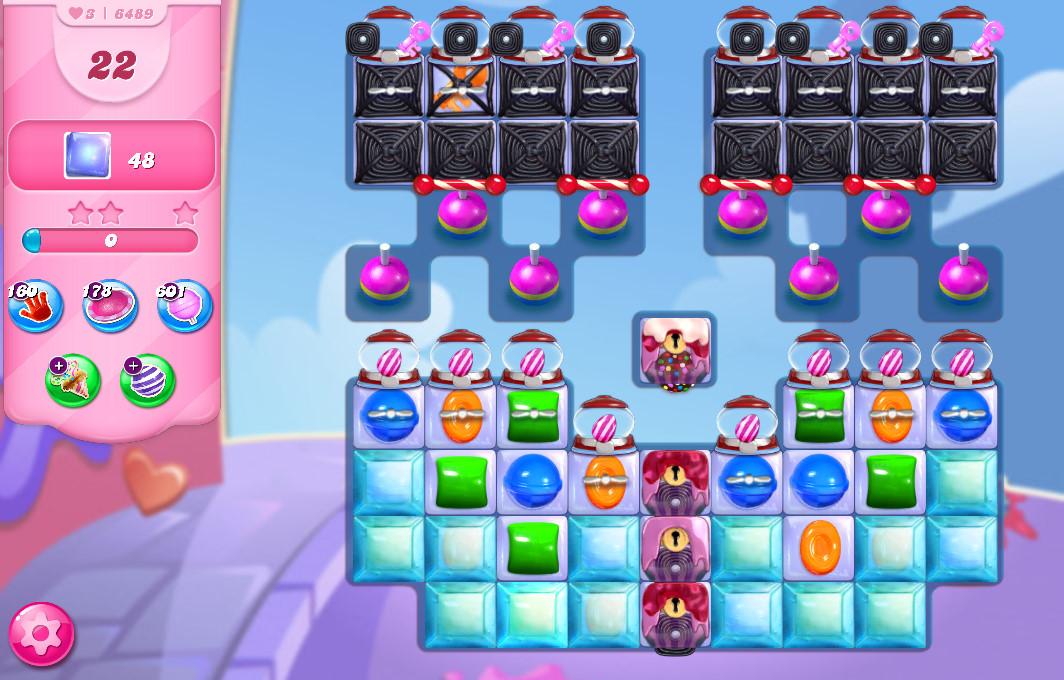 Candy Crush Saga level 6489