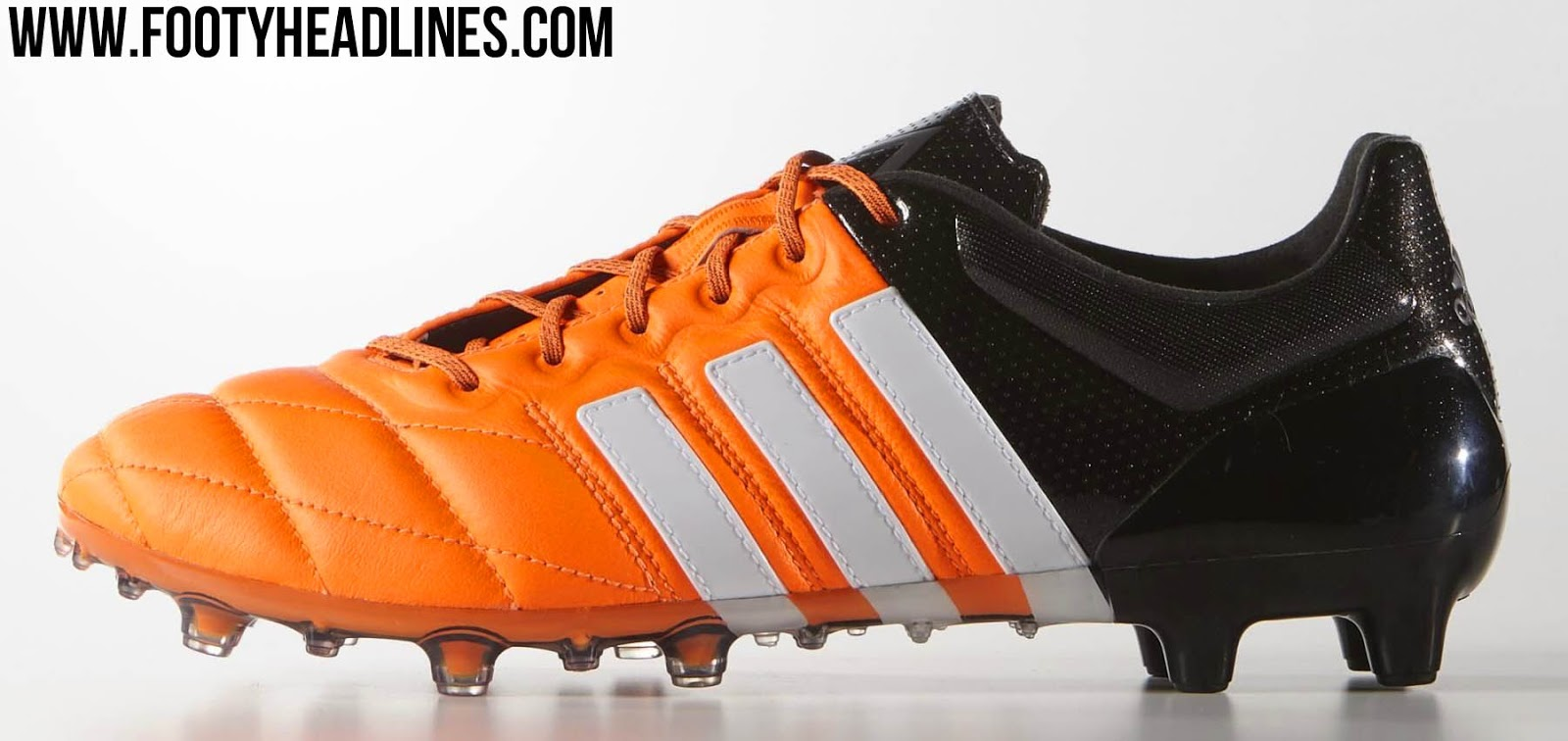 greece adidas ace 15.1 leder orange 014c9 62d14