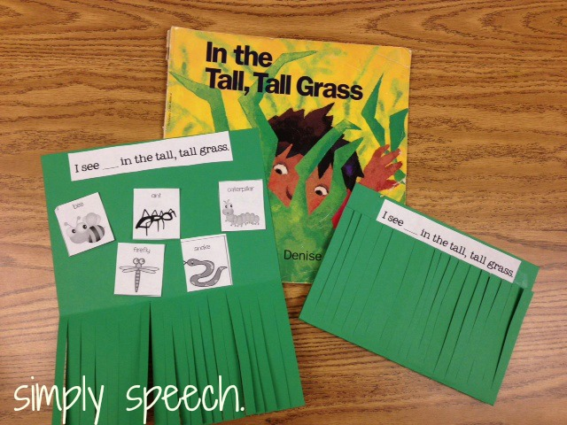 simply speech in the tall tall grass with a freebie