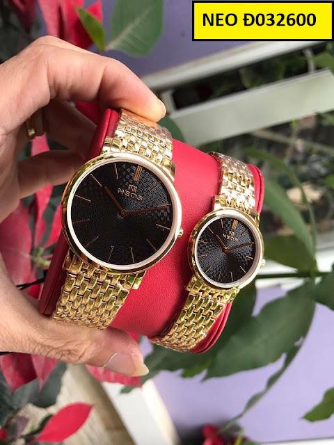 Đồng hồ cặp đôi Neo Đ032600