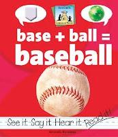 bookcover of BASE + BALL = BASEBALL  by Amanda Rondeau