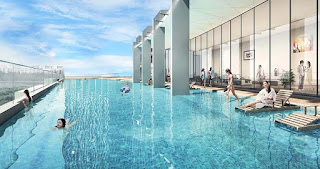 bể bơi tại Dự án Condotel Cocobay Đà Nẵng