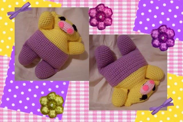 sweet baby free hippo crochet amigurumi pattern