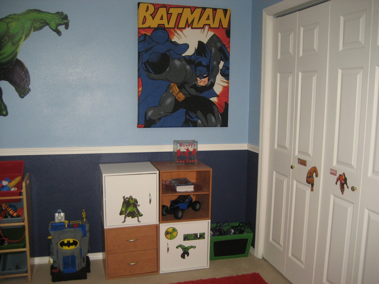 Incredible Hulk Wall Stickers Cindy S Vinyl Creations Super Hero Room Finished
