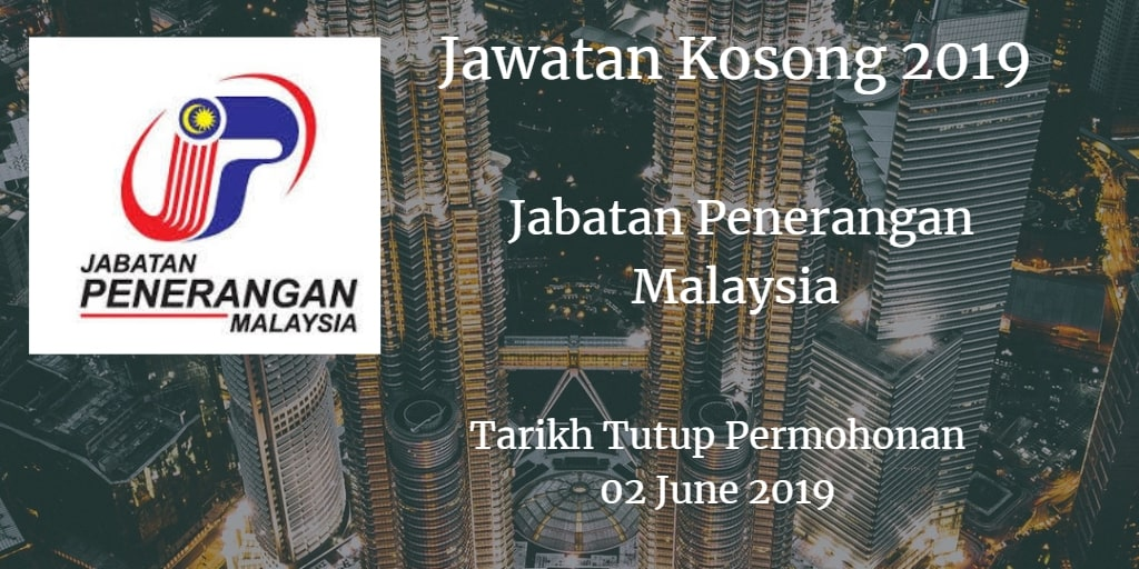 Jawatan Kosong Jabatan Penerangan Malaysia 02 June 2019