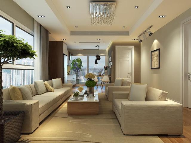 Nội thất căn hộ ICID Complex Lê Trọng Tấn